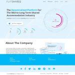 Разработка дизайна сайта - flatshares.io