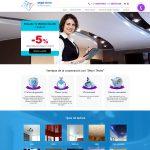 Разработка сайта для испанской компании