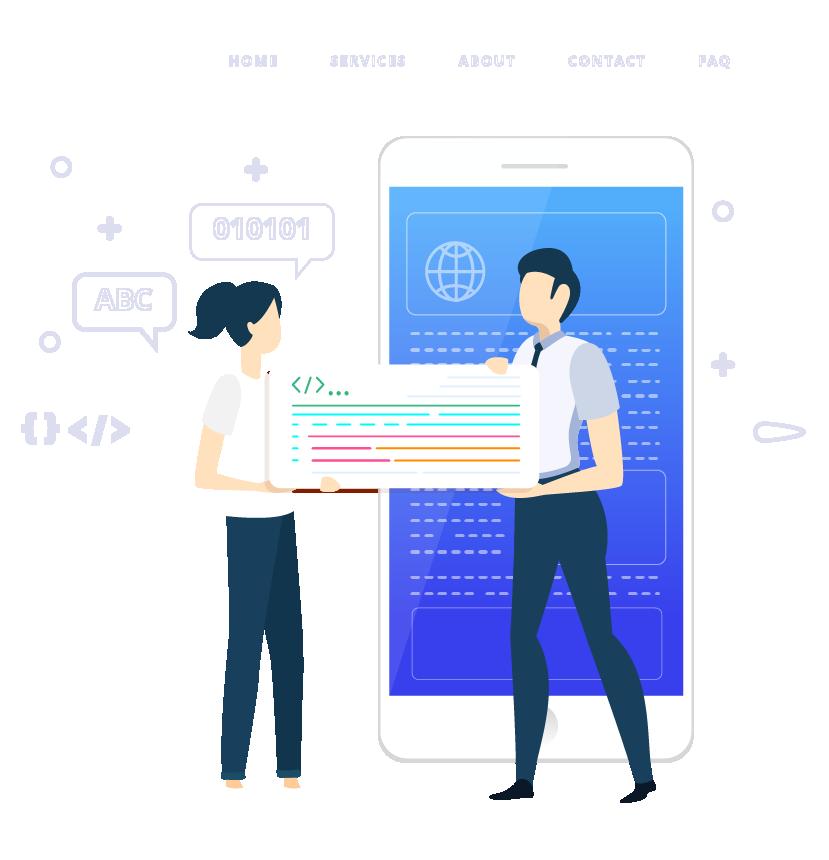 услуги мобильной версии сайта