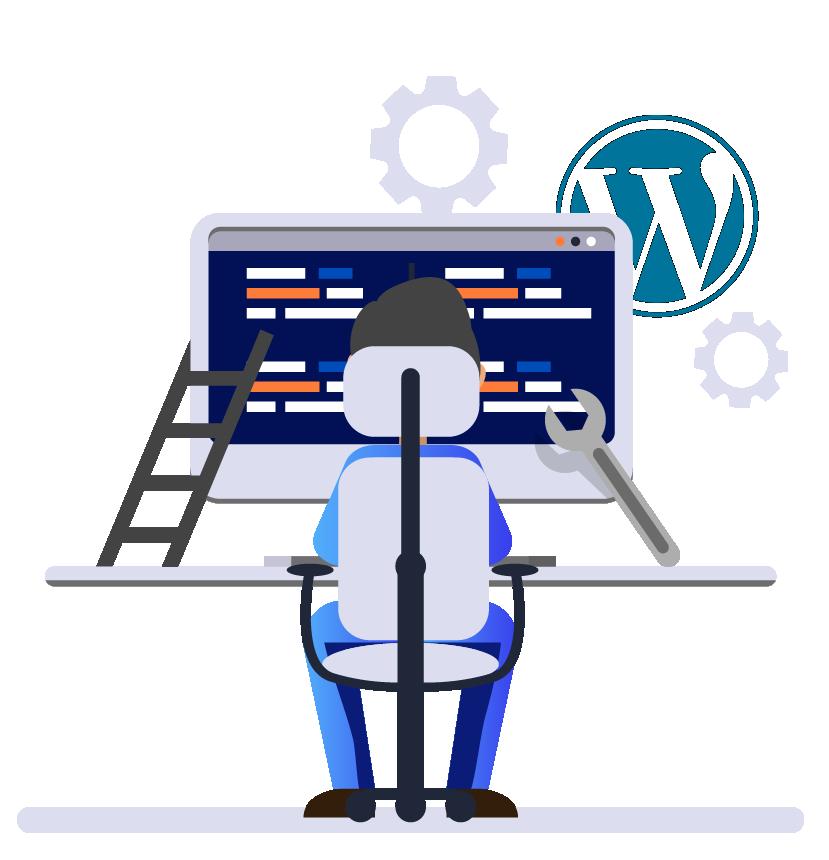 создание сайта WordPress